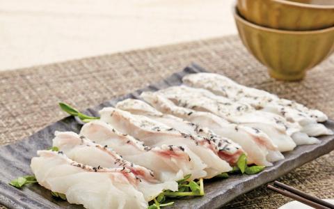 【龍虎斑涮涮鍋魚片】口感與肉質超越野生石斑魚 美味的讓人想一口接著一口