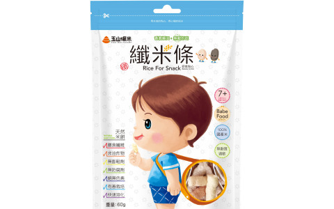 【醬好糠 綜合口味纖米條】百分百純米製成 寶寶的第一份健康米餅零食