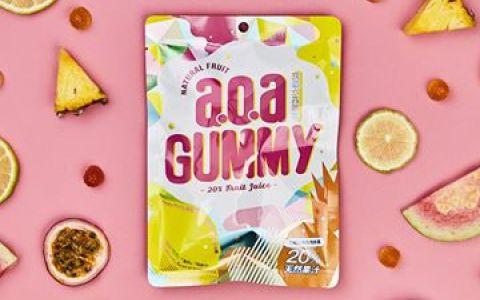 【a.o.a 天然水果軟糖-綜合包】QQ軟糖 每一口都可以感受到天然水果的新鮮
