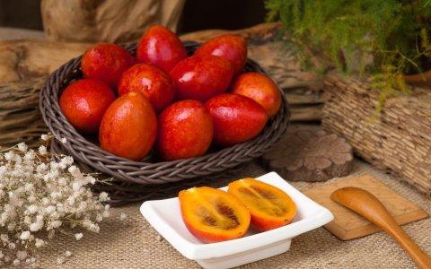【南投水里 不是番茄的樹番茄鮮果4台斤裝 】酸甜爽味沁入舌尖 一口吃進多種滋味